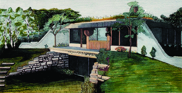 Illustration in mixed mediums
